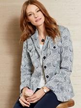 Lexia Paisley Jacket