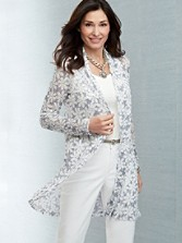 Long Sleeve Lia Lace Cardigan
