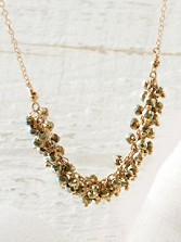 Bundled Up Pyrite Necklace