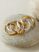 Stacking Rings, Set Of 5