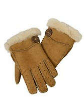 Bailey Button Sheepskin Gloves