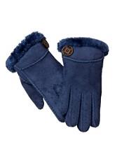 Bailey Button Sheepskin Gloves