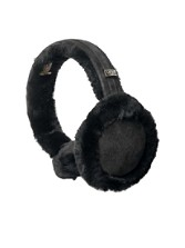 Leather/shearling Wired Earmuffs