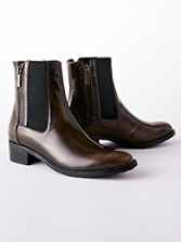 Odelia Metallic Booties