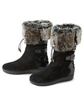 Weslyn Faux Fur-trim Boots
