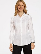 Non-iron Fitted Bridgette Shirt