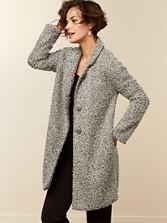 Jacqueline Boucle Coat