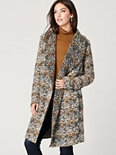 Carrington Knit Car Coat