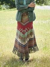 Barn Blanket Skirt