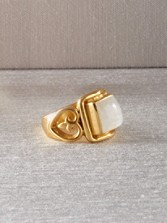 Versailles Moonstone Ring