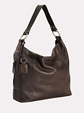 Sadie Leather Hobo Bag