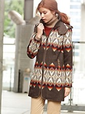Pendleton Signature Santafe Blanket Coat