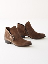 Capshaw Suede Bootie With Buckle