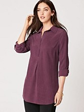 Washed Silk Tina Tunic