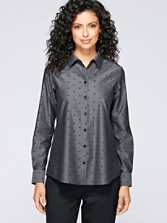 Dot Jacquard Shirt