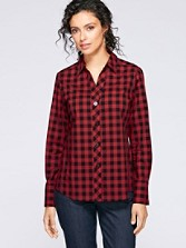Yarn-dyed Gingham Shirt