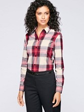 Holiday Tartan Shaped Shirt
