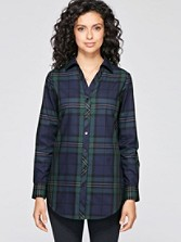Holiday Tartan Shaped Tunic