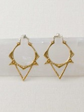 Sun Spike Earrings