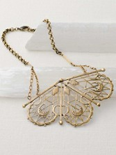 Sacred Geometry Fan Necklace