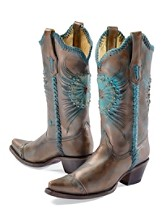 Starburst Medallion Boots