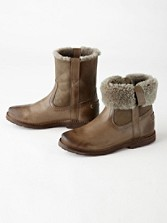 Celia Short Shearling Boots