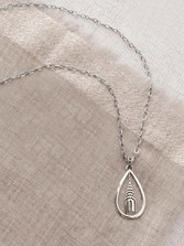 Chrysler Building Necklace