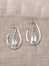 Chrysler Building Earrings