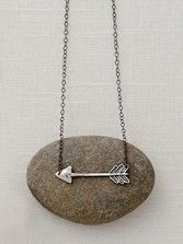 Handcarved Arrow Necklace