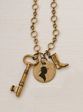 Park Ranger Charm Necklace