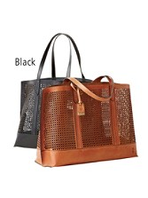 Peyton Perforated Tote