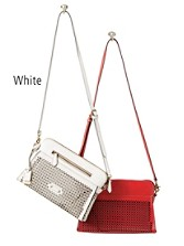 Peyton Perforated Crossbody