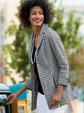 Gingham Jacket