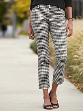 Gingham Angie Pants