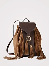Clara Fringe Backpack