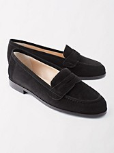 Suede Audrey Loafers