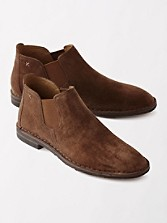 Italian Suede Allison Ankle Boots