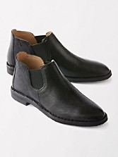 Italian Leather Allison Ankle Boots