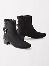 Waterproof Quilted York Ankle Boots