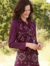 Gambler Girl Jacquard Vest