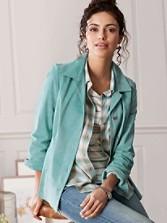 Selena Suede Jacket