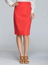 Ultra 9 Stretch Twill Pencil Skirt