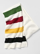 Park Stripe Knit Scarf