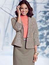 Mitzi Tweed Jacket