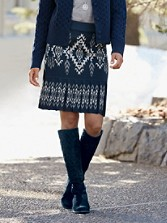 Reversible Sylvia Knit Skirt