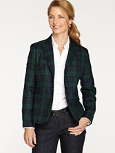 Black Watch Tartan Suit Jacket