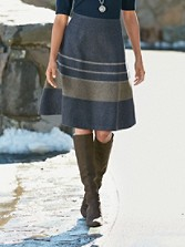 Stripe Teacup Skirt