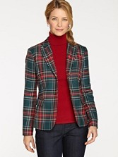 Princess Mary Tartan Suit Jacket