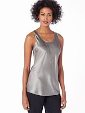 Silk Reversible Bias Tank