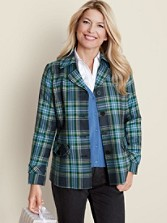 Worsted Wool Flannel Sylvan Jacket